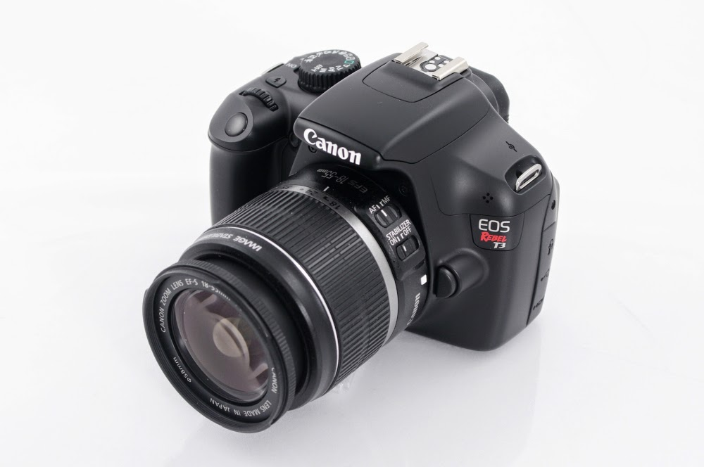 Foto Kamera Canon EOS Rebel T3 Spesifikasi Harga (Full Specs)