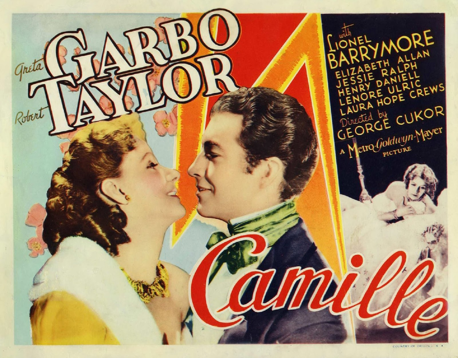 movie posters  camille  1936