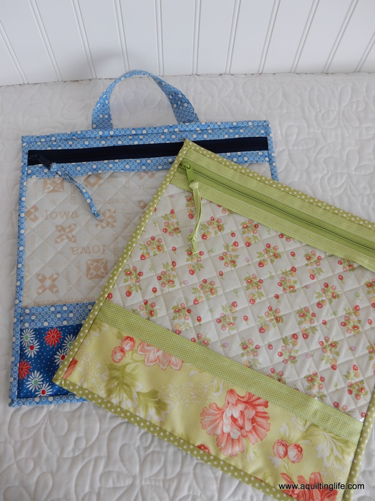 Christmas sewing project bags a quilting life for Craft patterns to sew