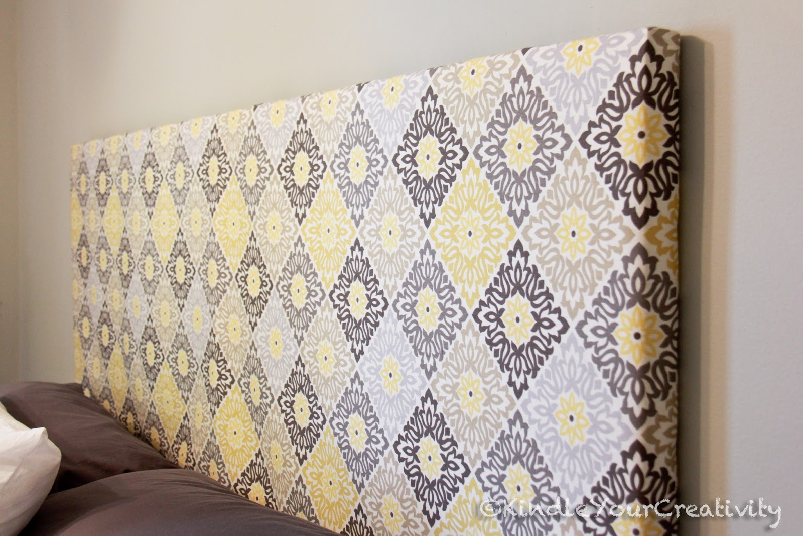dorsey fabric headboard complete diy designs