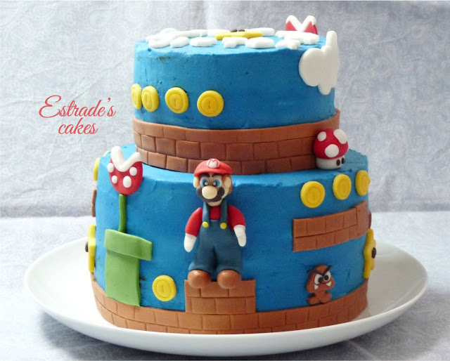 Tarta Mario Bros - 1