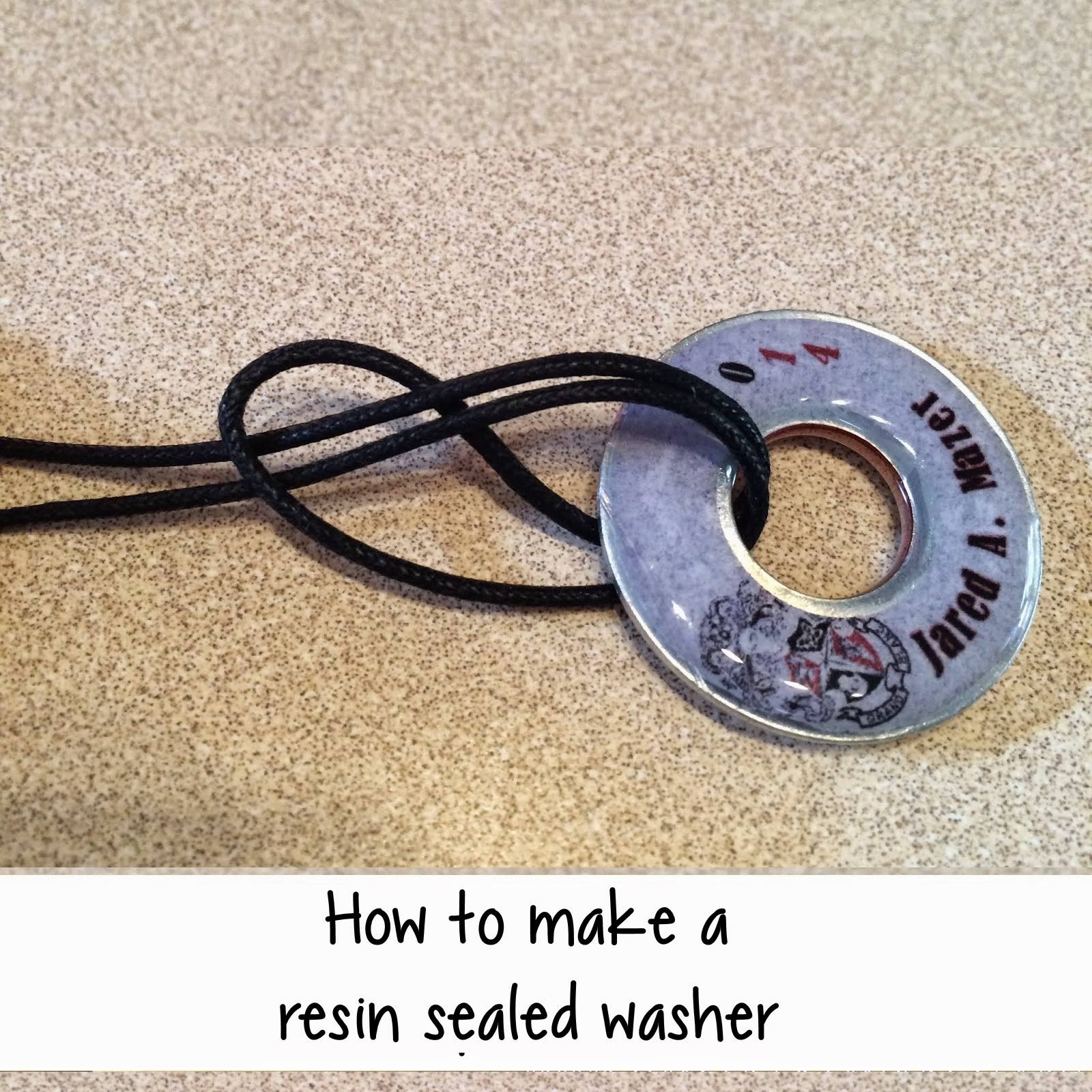 using free handmade img to a washer washers necklace article bracelet jewelry how tutorial make created