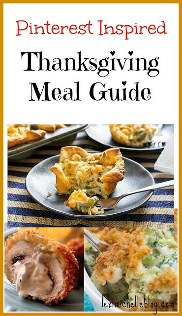 Pinterest Inspired Thanksgiving meal guide