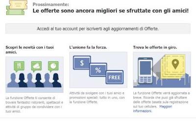 Facebook Deals Facebook Places