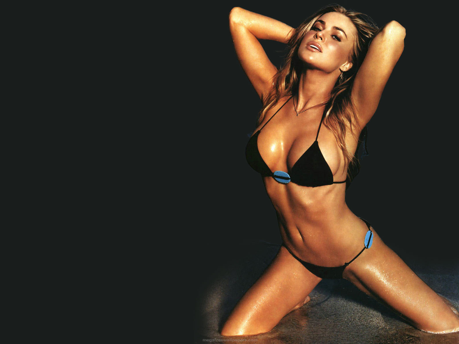 Carmen electra naked wallpaper