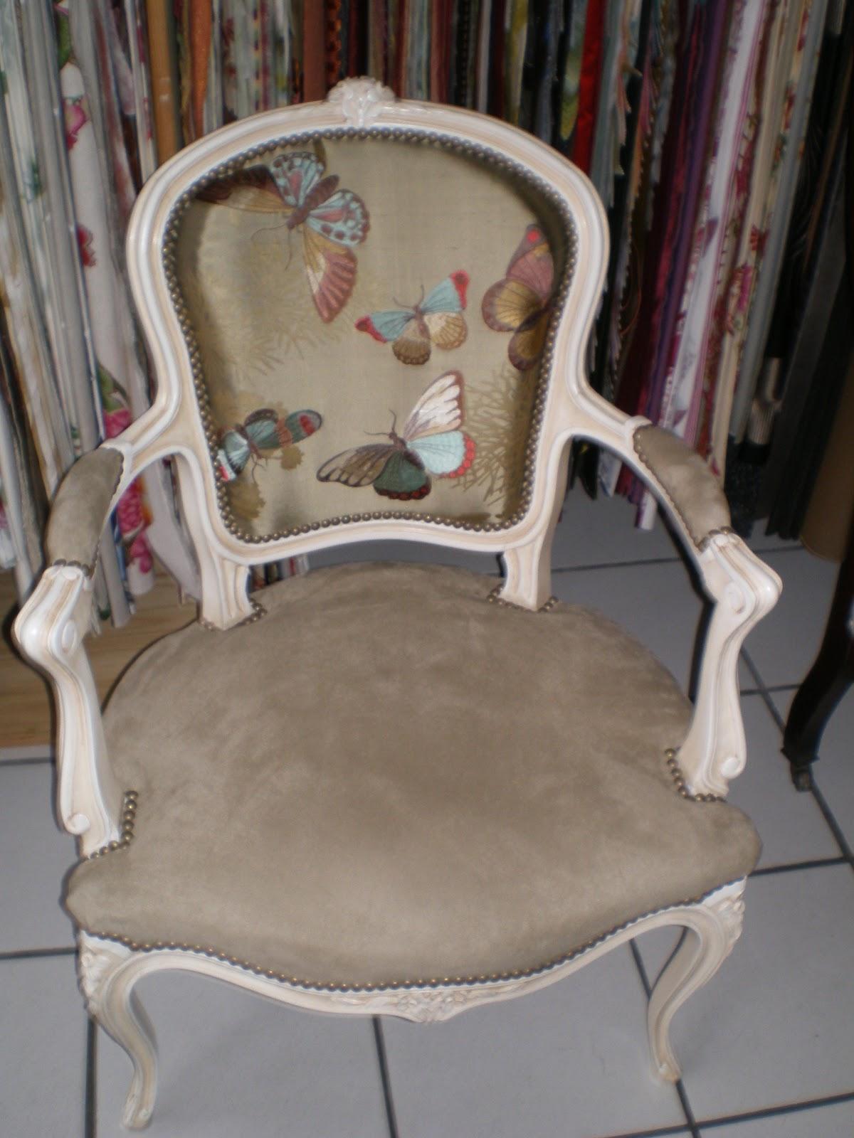 Ambiance d 39 autan le blog avril 2013 - Capitonner un fauteuil ...