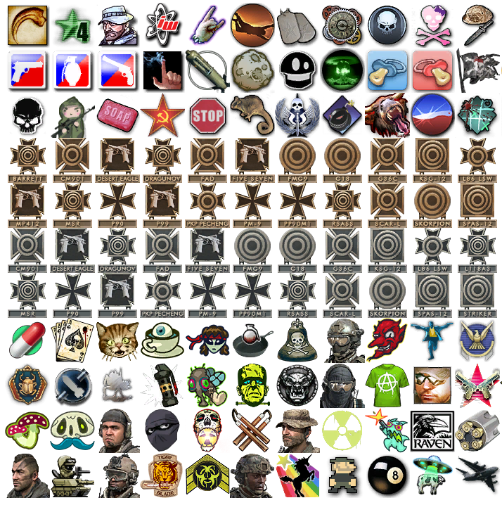Эмблемы warface 6