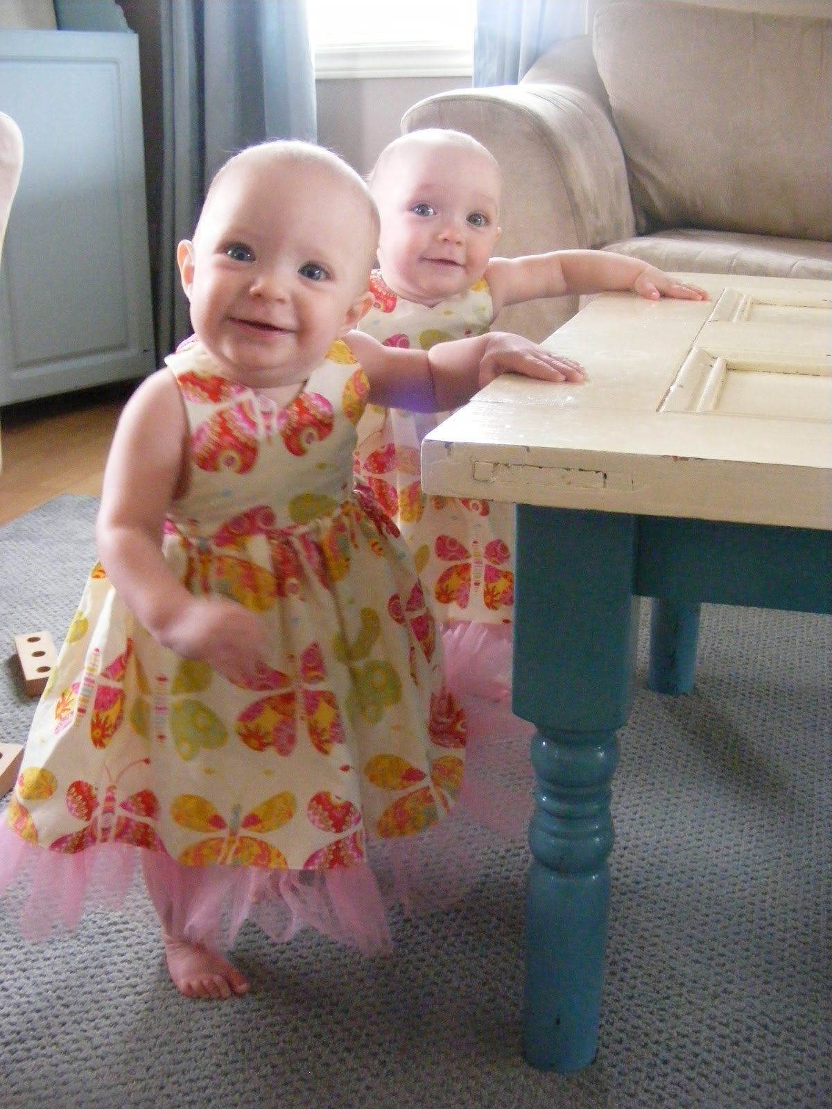 Baby Halter Dress free pattern and tutorial