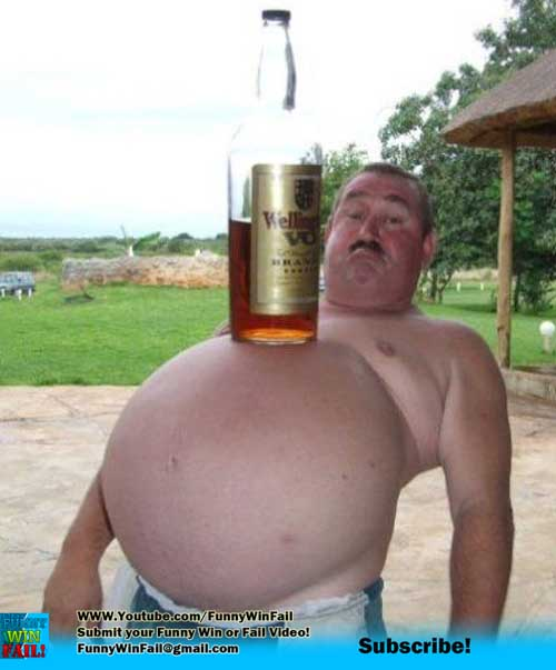 Huge Beer Belly