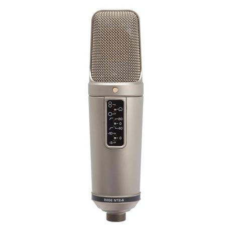 Micrófonos. Rode NT2-A. Un todo terreno de precio razonable