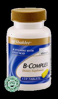 b complex shaklee, ruzidah.com