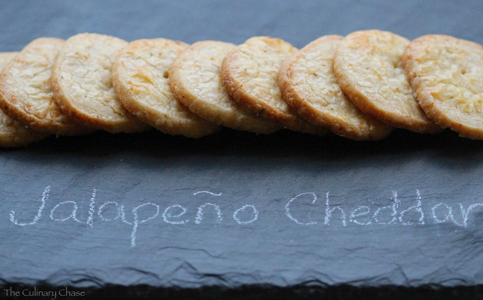 Jalapeño Cheddar Crackers - The Culinary Chase