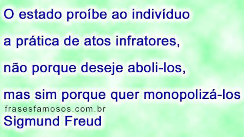 Frase de Sigmund Freud