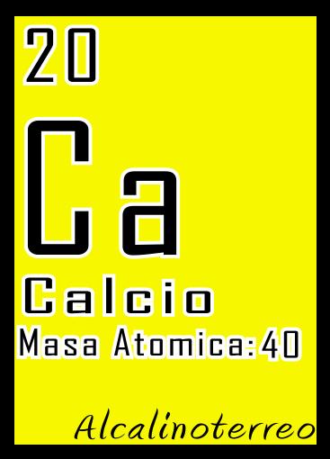 Tabla Periodica: Alcalinoterreos