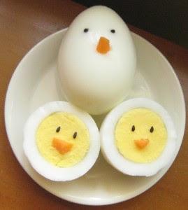 huevos pollitos