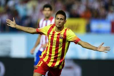 Neymar salva Barcelona oito minutos depois de ter deixado o banco de reservas.