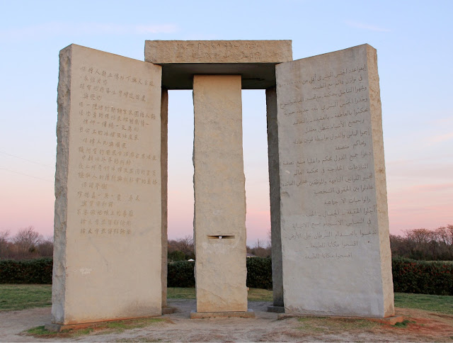 Georgia Guidestones Code May Give Clues To August 2015 Event