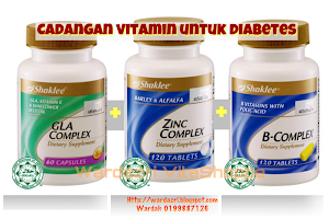VITAMIN UNTUK PESAKIT DIABETES