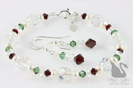 Mary Kay's Custom Vintage Crystal Redux II Holiday Bracelet Set (B170)