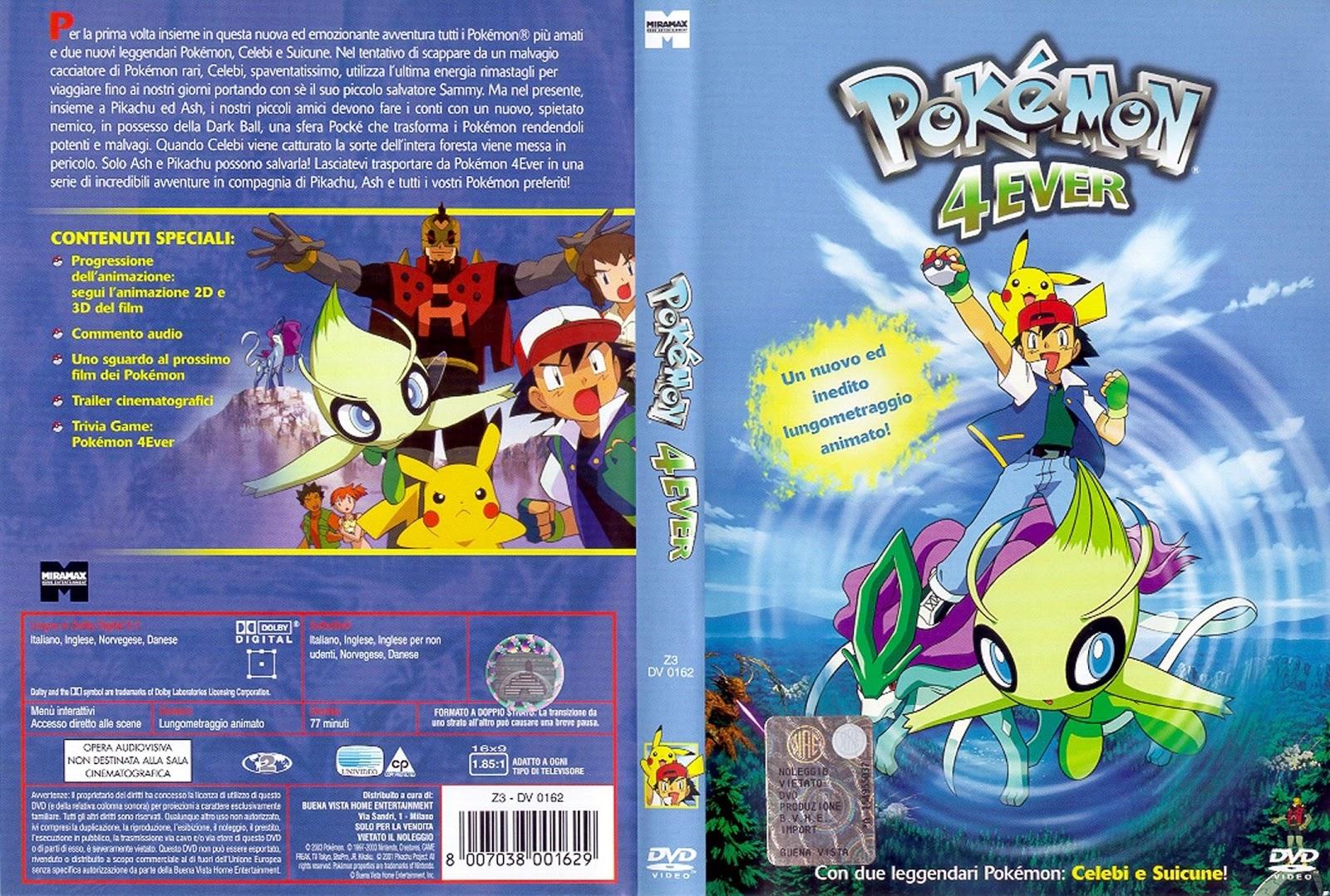 Pokemon_4ever - [DD] Pokémon Película 4 Pokémon Por Siempre: Celebi, La Voz del Bosque - Anime Ligero [Descargas]