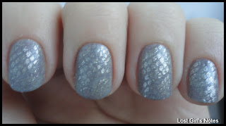 snake skin manicure