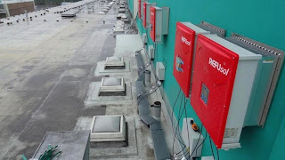 Inverters and Cable Trays