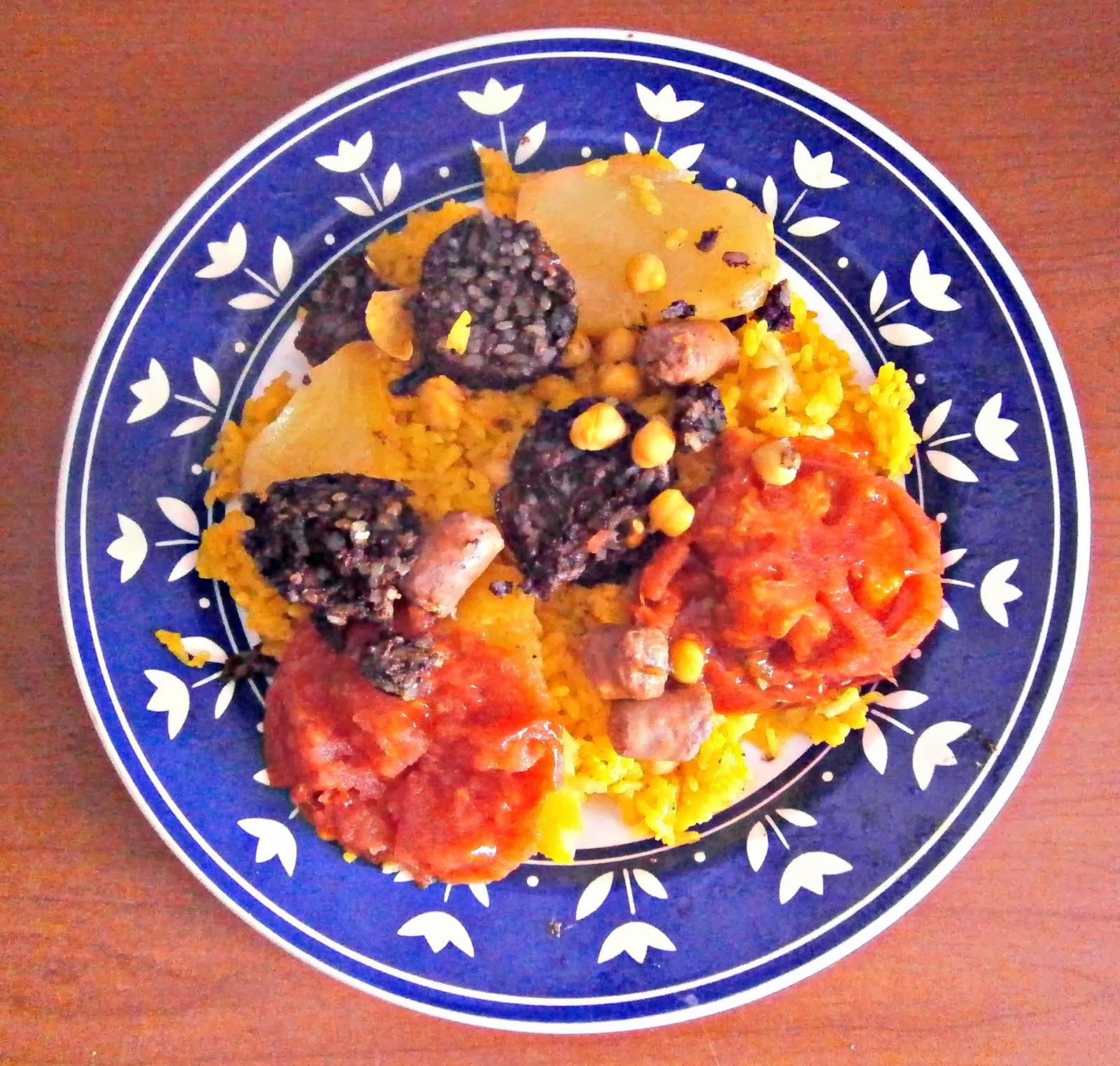 Cocina con cristina arroz al horno olla gm o en horno for Horno convencional pequeno