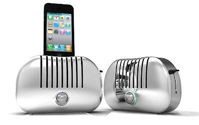 3.+Toaster+iPhone+Dock Teknologi yang Layak Untuk Disimak di Tahun 2012