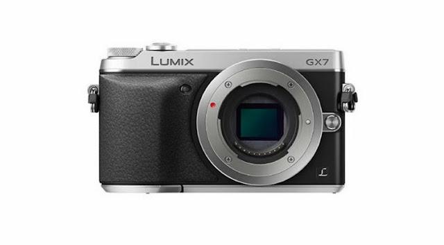 كاميرا باناسونيك GX 7 و16 ميجابكسل وشاشة 3 بوصة LCD
