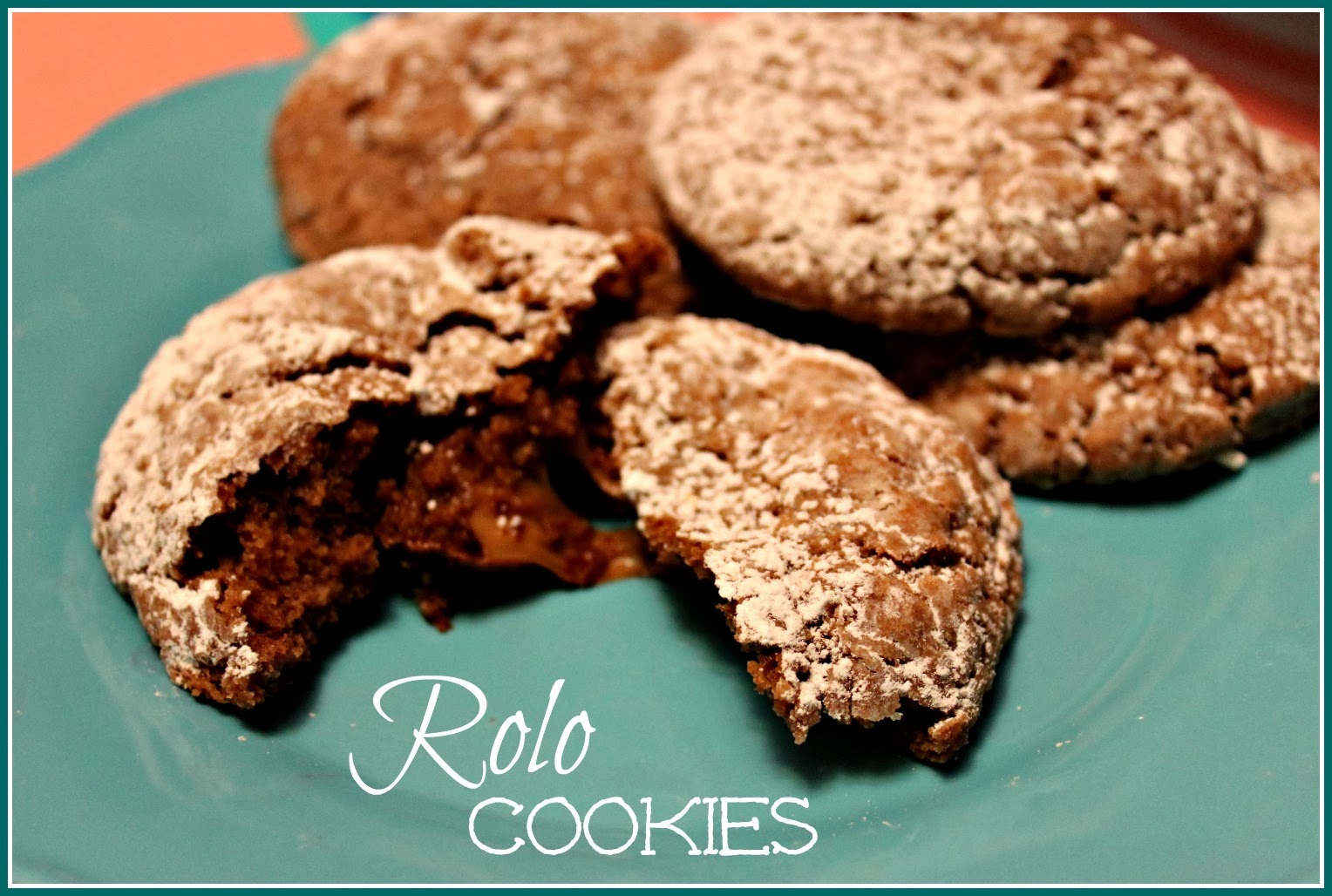 Rolo Cookies!