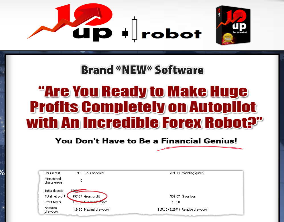 10up Forex Robot