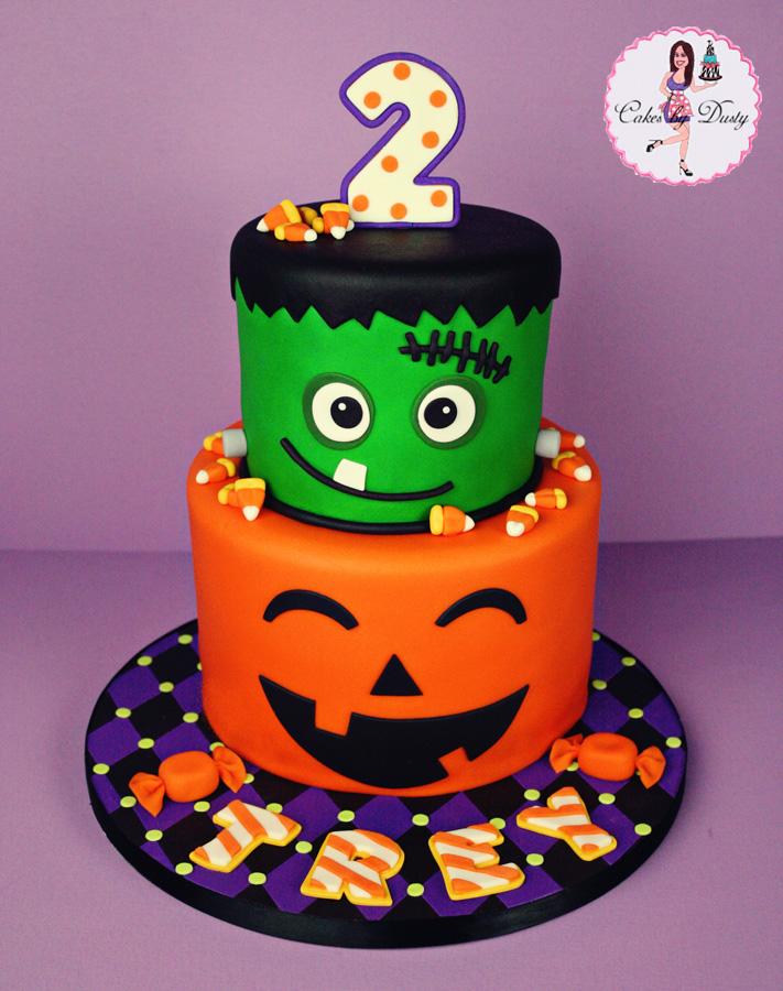 Cakes By Dusty Treys Halloween Birthday Cake
