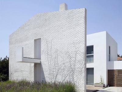 white architecture - modern design