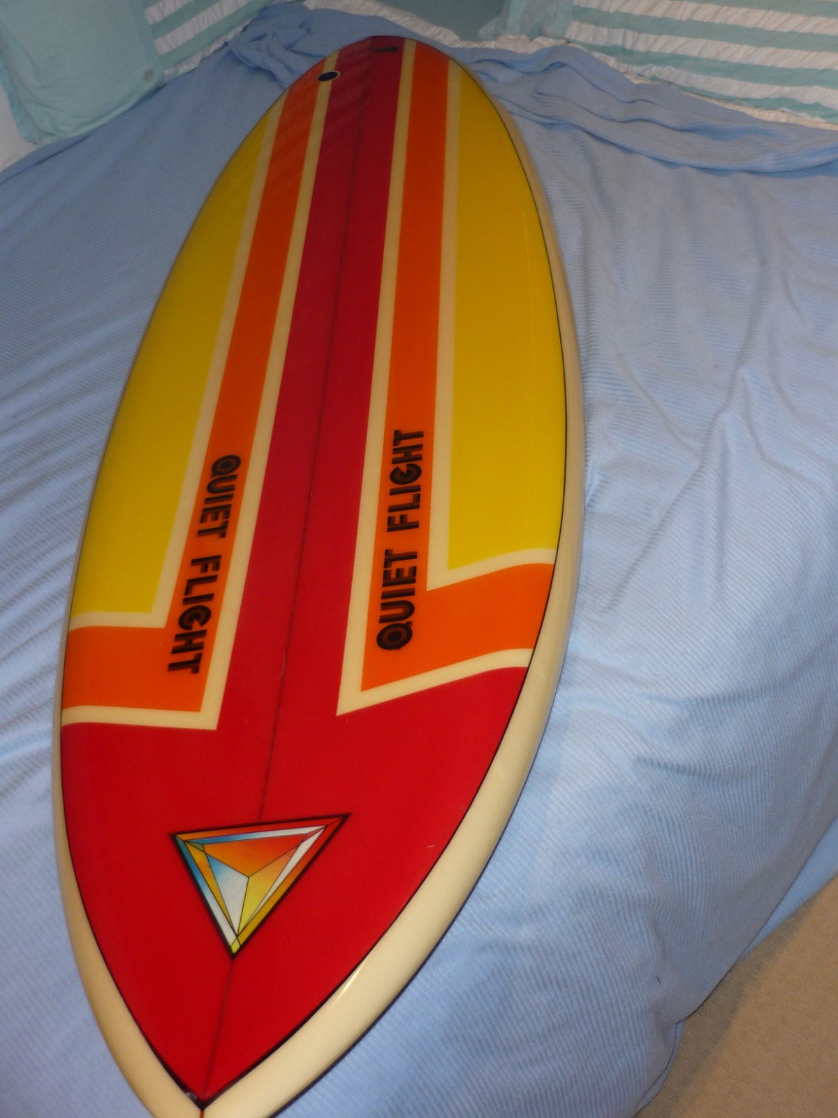vintage surfboard collector UK: 80s collection