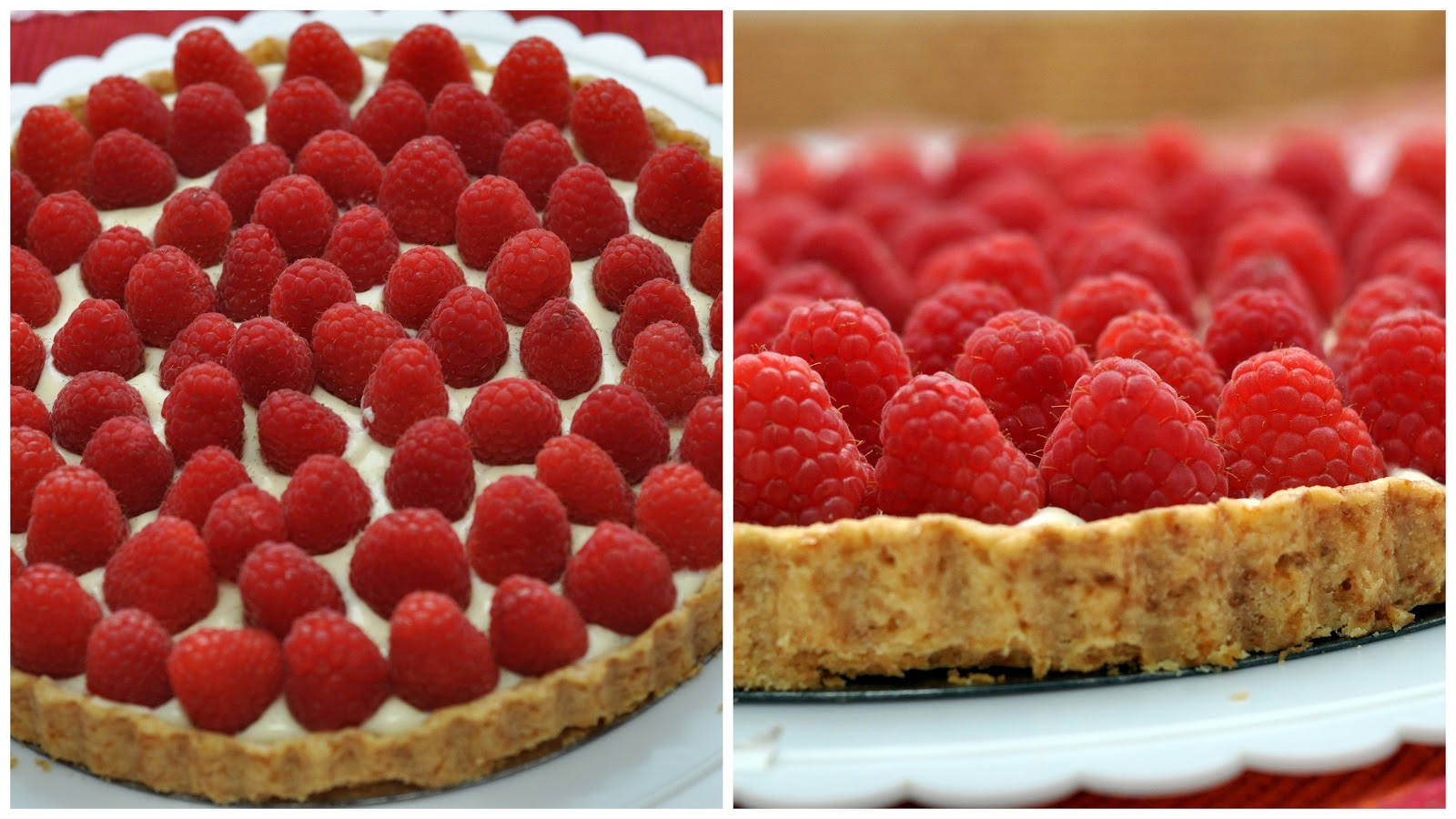 Raspberry-White Chocolate Tart Recipes — Dishmaps