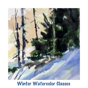 Time to sign up for Winter Watercolor Classes