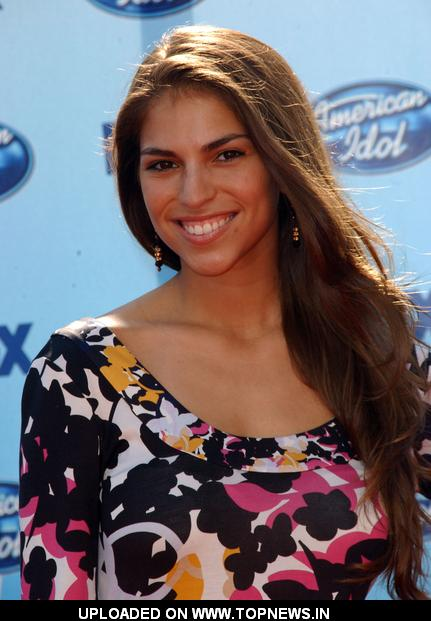With Antonella from american idol think, that