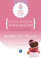 Sarò al cake design week! Venite anche voi? ;-)