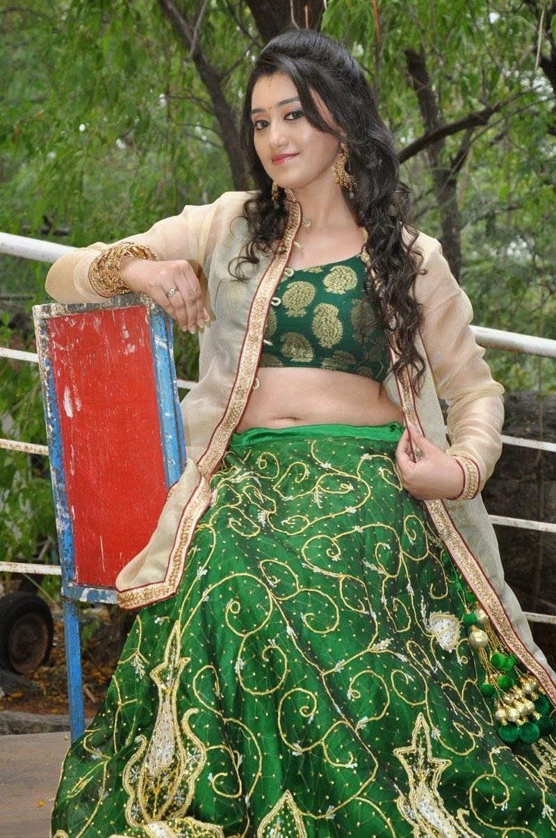 Ruchika Rajput Latest Stills in Green Dress