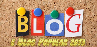 5 Blog Malaysia Popular 2013