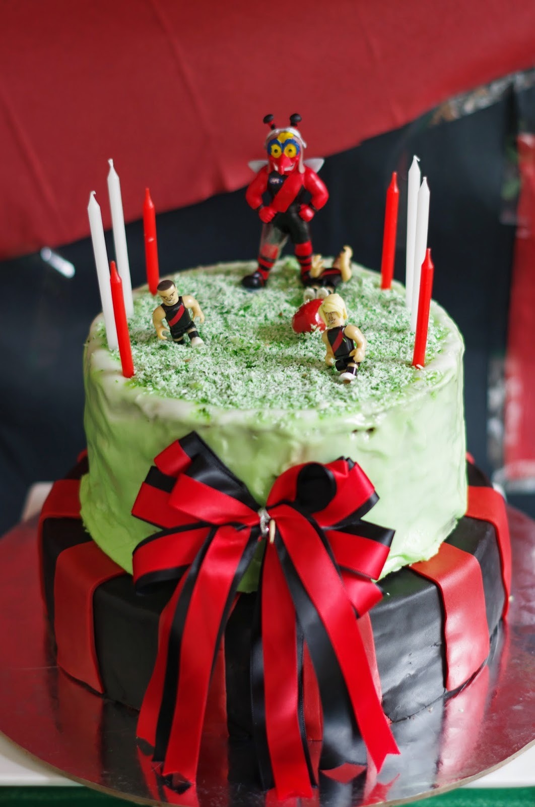 Essendon Bombers Party Birthday Cake