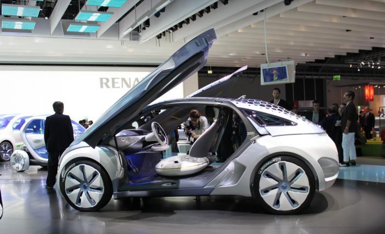 Renault Zoe Ze Concept Car