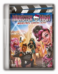 Monster High: Monstros, Câmera, Ação!   DVDRip AVI + RMVB Dublado