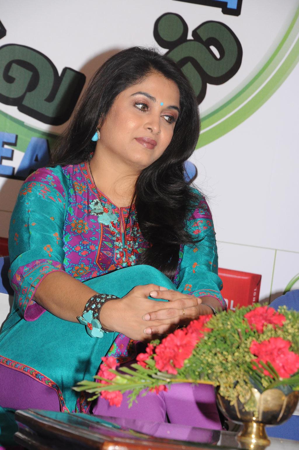 Ramya Krishnan in Churidar @ Cinthol Contest Photo Set - Actress ...