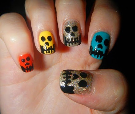 Halloween Nails Art Stickers ideas