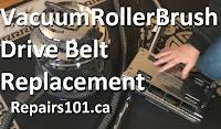 Filter Queen vacuum roller brush drive