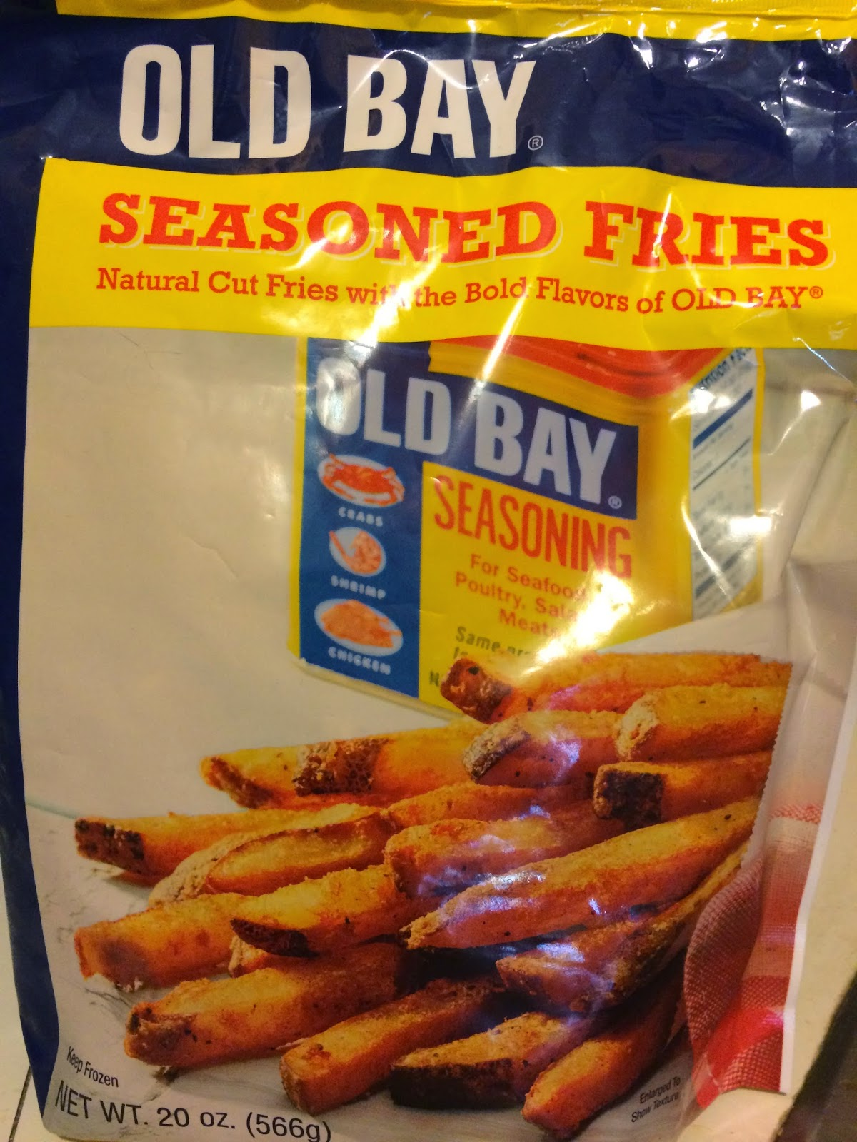 French Fry Diary: French Fry Diary 617: Old Bay Seasoned Fries
