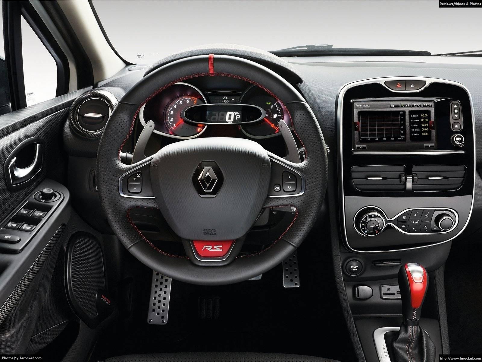 Hình ảnh xe ô tô Renault Clio RS 220 Trophy EDC 2016 & nội ngoại thất
