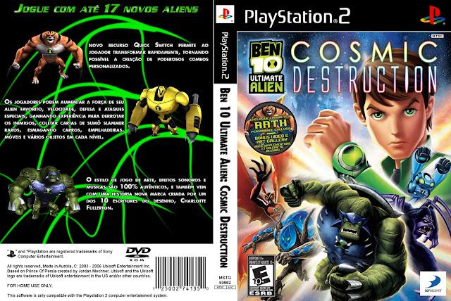 Ben 10 Ultimate Alien Cosmic Destruction PS2 Nemophobia