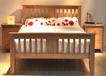 Giường đôi gỗ sồi Edmonton King Size